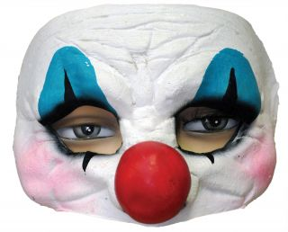 Happy Clown Latex Half Mask