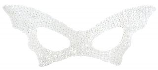 Women's Sequin Bat Mask