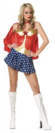 Women's All American Babe Costume