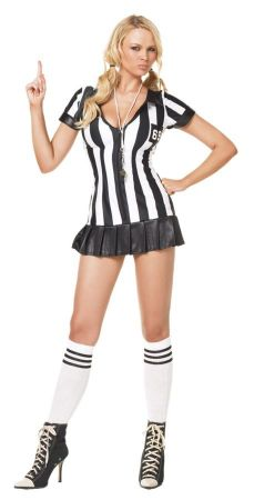 Women's Game Official Referee Costume