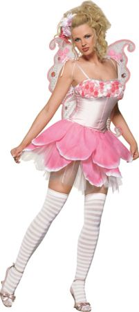 Women's Rose Petal Pixie Costume
