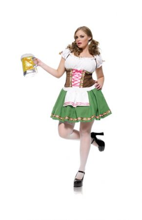 Women's Plus Size Gretchen Beer Garden Costume