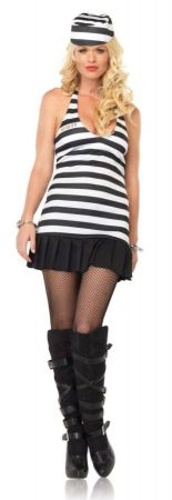 Women's Jailgirl Costume