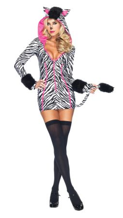 Women's Zebra Savannah Costume