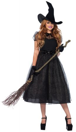 Women's Darling Witch Spellcaster Costume