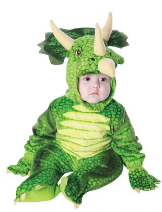 Green Triceratops Costume