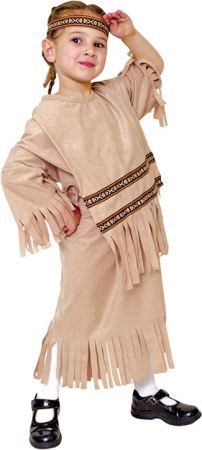 Girl's Indian Girl Costume
