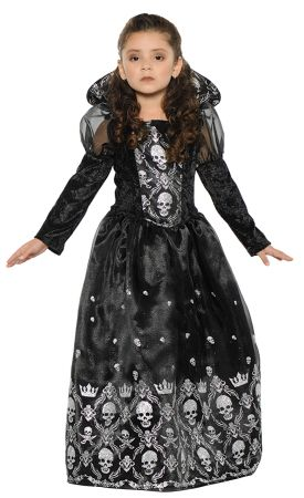 Girl's Dark Princess Costume