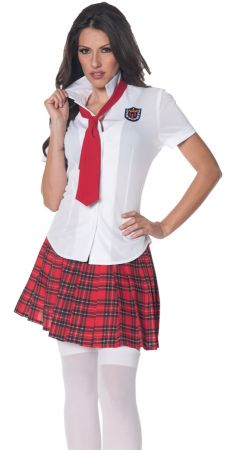 Fitted School Girl Shirt