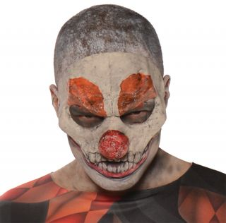 Evil Clown 3/4 Mask