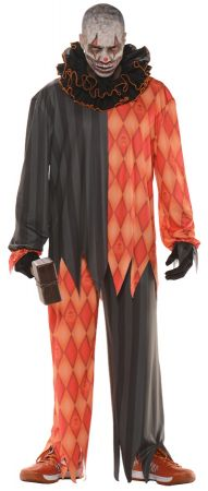 Men's Evil Clown Costume