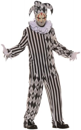 Teen Evil Harlequin Costume