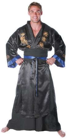 Men's Plus Size Samurai Costume