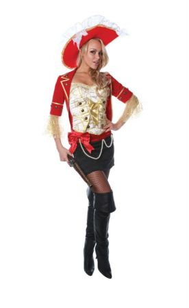 Lace Pirate Costume