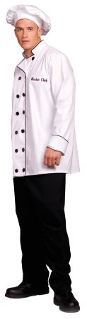 Men's Master Chef Costume