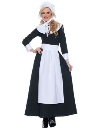 Women's Pilgrim Woman Costume