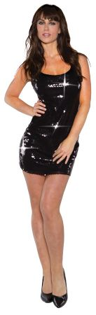 Women's Short Sequin Dress