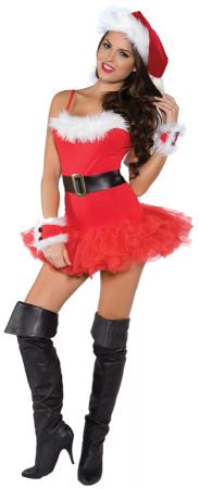 Women's Naughty Holiday Costume