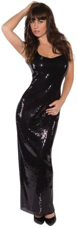 Women's Long Sequin Dress