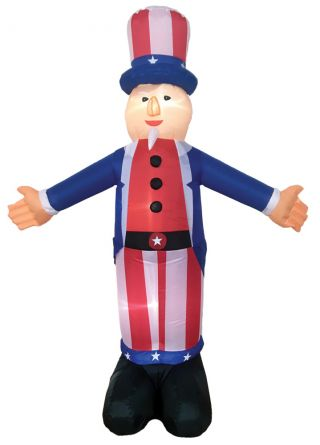 6' Inflatable Uncle Sam